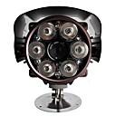 420TVL 1 / 3 CCD Sony de 80 millones de visión nocturna por infrarrojos a distancia con cable de la cámara a prueba de agua (abc018)