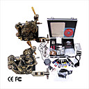 professionele tattoo machine kit aangevuld set met 2 tattoo pistool machines