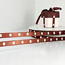 diseño personalizado 5/8-pulgada doble cinta de raso que enfrentan