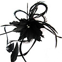Veren Vrouwen Helm Bruiloft/Speciale gelegenheden/Casual/Outdoor Bloemen/Fascinators Bruiloft/Speciale gelegenheden/Casual/Outdoor