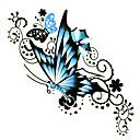 5 pcs tatouage de papillon étanche temporaire (6m * 6cm)