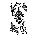 5 Pcs Rose Waterproof Temporary Tattoo(17.5cm*10cm)