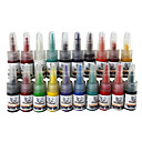 20 kleuren tattoo inkt set 20 * 5 ml