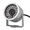 vigilancia de mini-cámaras de seguridad con 30 leds (de visión nocturna, DC 12V)