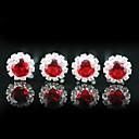 Coiffes de 4 pièces magnifiques strass mariage Pins / occasion spéciale plus de couleurs disponibles
