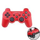 Mando Inalámbrico DualShock3 de Dos Tonos GOiGAME para el PS3 (Rojo y Negro)