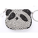 kristal / strass panda mini bag / koppeling