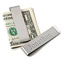 padrino de boda regalo fundamentos clip del dinero de los hombres personalizados