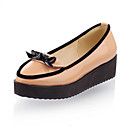 Patent Leather Platform / Closed Toe With Bowknot / Split Joint Party & Evening Shoes (More Colors Available)
