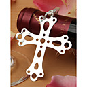 Silver Cross With Tassel Bookmark Favor