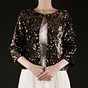 Gorgeous Cotton 3/4-Length Sleeve Wedding / Special Occasion Evening Jacket / Wrap (More Colors) Bolero Shrug