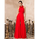 TS Couture Prom / Formal Evening Dress - Ruby Plus Sizes / Petite High Neck Floor-length Chiffon