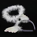 White Angel Halo Halloween Headpiece(1 piece)