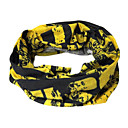 Fashion Designed Cycling Scarf (Black and Yellow)