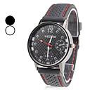 heren horloge jurk horloge eenvoudig ontwerp met kunststof band