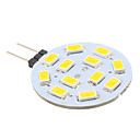 LED à Double Broches Blanc Chaud G4 2W 12 SMD 5630 220 LM DC 12 V