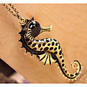 Frauen sea horse vintage necklace