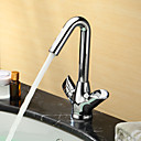Sprinkle® by Lightinthebox - Centerset Two Handles Brass Bathroom Sink Faucet-Chrome Finish