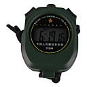 Vert foncé portable en plein air Chronomètre avec fonction réveil