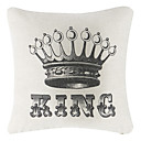 Le Roi Coton / Lin Coussin décoratif