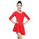 Dancewear Viscose Latin Dance Dress More Colors