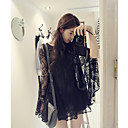 Women's Lace Loose Dress , Round Neck
