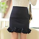 MLINA Lovely Elegant Sexy Ruffle Skirt