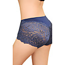 Women's Sexy Plus Size High Rise Lace Panties(Waist:60-80cm,Hip:100cm)