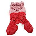 Krøllede Fur Style Warm Coats med bukser til hunde (assorteret farve, XS-XXL)
