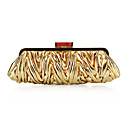 PU With Ruffles Evening Handbags/ Clutches More Colors Available