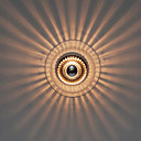 40W moderne kunstneriske væglampe med glaskuppel Shadow Ray of Light Feature