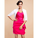 3/4-Length Sleeve Satin Special Occasion Evening Jacket/Wedding Wrap(More Colors) Bolero Shrug