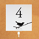 Place Cards and Holders Bird On Branch Table Number Card (set of 10)