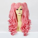 Pink Curly Pigtail 50cm Sweet Lolita Wig