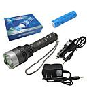 zy-809 5-Mode Cree XR-E Q5 LED Flashlight with 1600mAh Batery (160LM, 1x18650, Black)