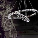 hanger licht luxe modern geleid kristallen wonen twee ringen