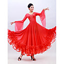 Performance Dancewear Viscose And Tulle Modern Dance Dress for Ladies(More Colors)