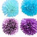 웨딩 장식 20 인치 종이 꽃 - 4 (더 많은 색상) 세트