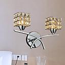 Modern Crystal Wall Light In 2 Lights 220-240V