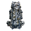 Large Capacity Outdoor Camping Camouflage Backpack 80L