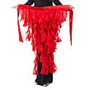 Encantador Desempenho Chiffon Belly Belt Dança para Senhoras (mais cores)