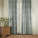 TWOPAGES® Two Panels  Jacquard European High Quality Energy Saving Curtain Drape