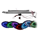 7 Color LED Under Car Glow Underbody System Neon Lights Kit 36