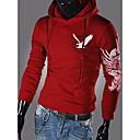 Men'S Eagle Print Hoodie Sweater Outwear