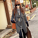 Women's Asymmetrical Woolen Coat