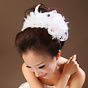 Women's Tulle / Imitation Pearl Headpiece-Wedding / Special Occasion Flowers As the Picture