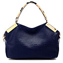 Casual Korean Style Crocodile Pattern Shoulder Bag