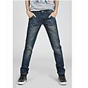 Men's Work Fashion Long Jeans