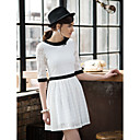 TS Vintage Simplicity Color Block Dress