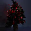 4M 3W 40 LED 210LM Red Light bande LED pour des décorations de Noël
